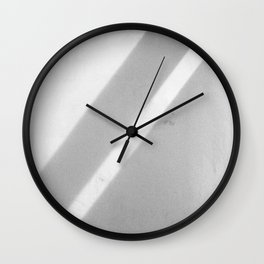 Diagonal shadows Wall Clock