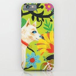 Spring Jindo Dog iPhone Case