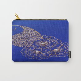 Blue Pearl Carry-All Pouch