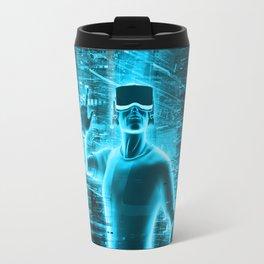 Virtual Reality User Travel Mug