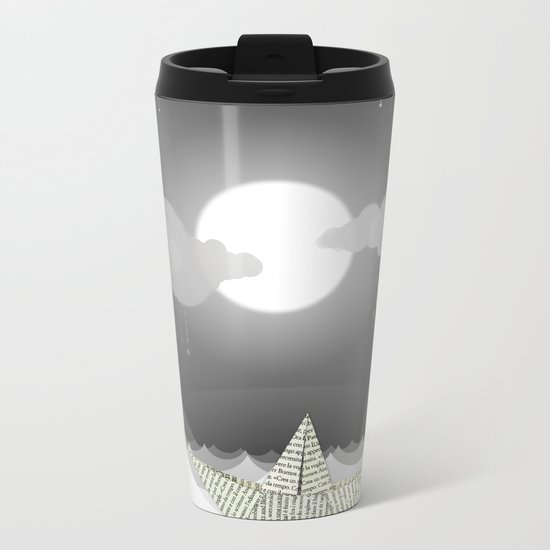 Dream Sea Metal Travel Mug