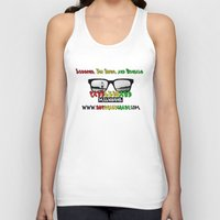 melbourne Tank Tops featuring Paddleboard Melbourne by Paddleboard Melbourne