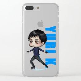 Yuri K. Clear iPhone Case