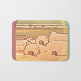Beached Labyrinth Bath Mat