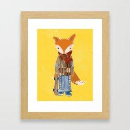 Fox Boy Framed Art Print