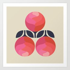 Peony Perfection Art Print