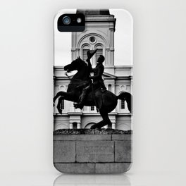 Jackson Square, squared iPhone Case