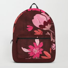 Cranberry Harvest Blooms Backpack