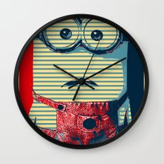 Minion banana Wall Clock