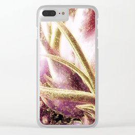 Air Plant Abstract Clear iPhone Case