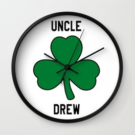 Uncle Drew Kyrie boston basketball Wall Clock