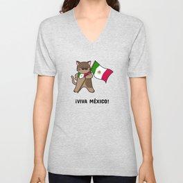 Viva Mexico Unisex V-Neck