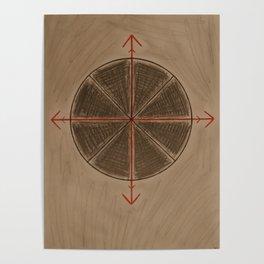 Wheel of Arte Poster