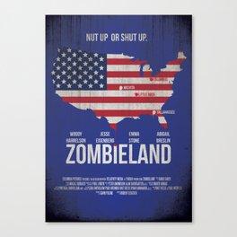 Zombieland Canvas Print