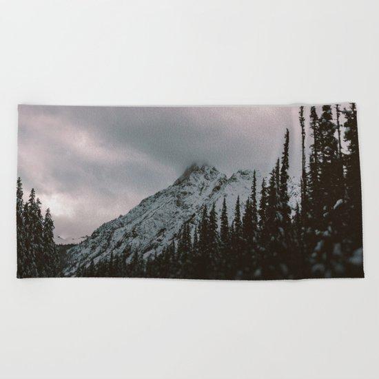 Mountain Love Beach Towel
