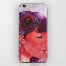 black widow iPhone Skin