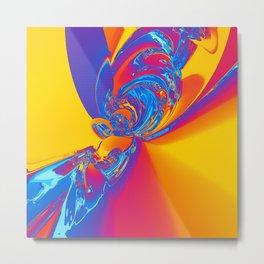 Pop Art Abstract Metal Print