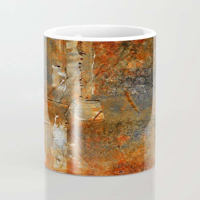Rust Texture 72 Coffee Mug