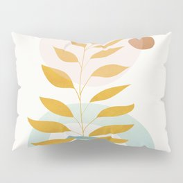 Soft Abstract Shapes 09 Pillow Sham