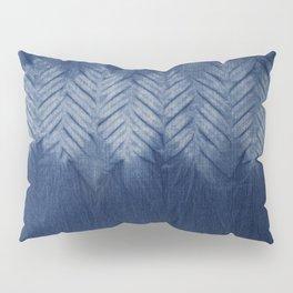 Shibori Chevron Stripe Pillow Sham