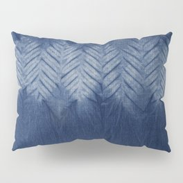Shibori Chevron Stripe Pillow Sham