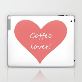 Coffee lover Laptop & iPad Skin