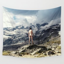 World Naked Hike Wall Tapestry