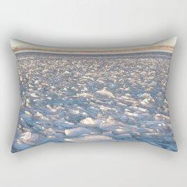 Watercolor Ice 16 Rectangular Pillow