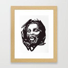 Not Funny Framed Art Print