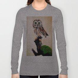 Stareing Owl Long Sleeve T-shirt