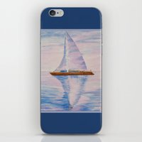 serenity iPhone & iPod Skins featuring Serenity by Ana Lillith Bar