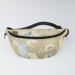 The Barnabus Project - Front Endpapers Fanny Pack