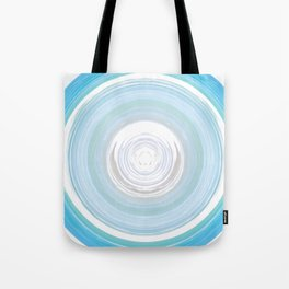 Ebb and Flow - Aqua Tote Bag