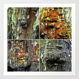 Tableau of Archetypal Structures Art Print