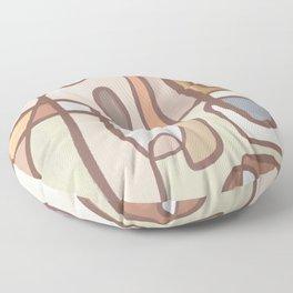 Sunday Snooze   Earthy Floor Pillow