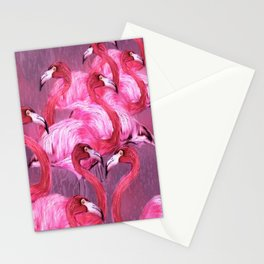 Flamingo Art Stationery Cards