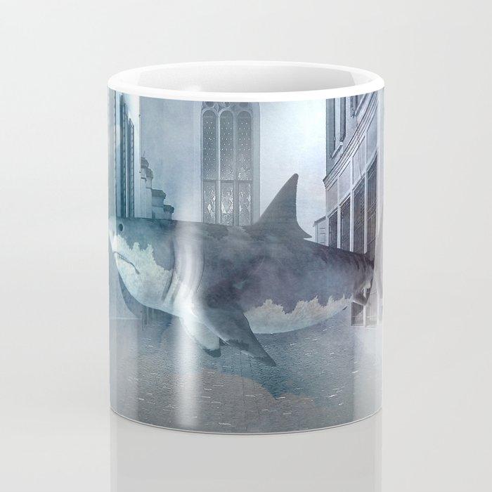 Night Shark Coffee Mug