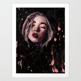 Gathering Lost Dreams Art Print