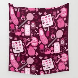2000s Pink Wall Tapestry
