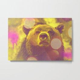 ACID BEAR Metal Print