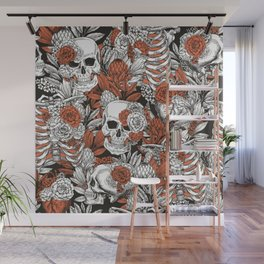 Floral anatomy Wall Mural