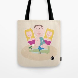 Beauty and the Grrr... Tote Bag