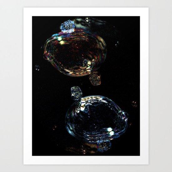 Abstract Luminosity Art Print