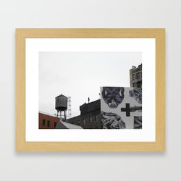 Gormley on Broadway, New York Framed Art Print