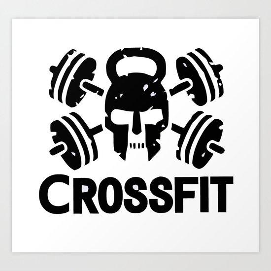 Crossfit Art Print By Premium