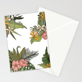 Palm Bouquets Stationery Cards