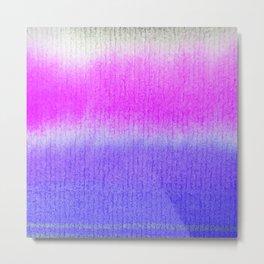 Purple Watercolor Blend Metal Print