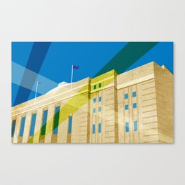 Toronto's My Home: Maple Leaf Gardens Canvas Print