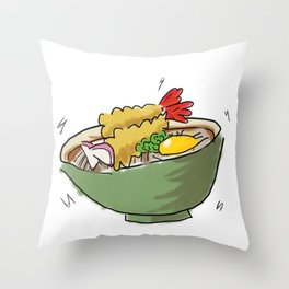 Soba 01 Throw Pillow