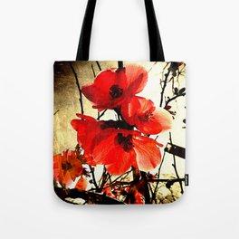 Spring Red 3, Royal Botanical Gardens - Melbourne Tote Bag